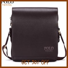 6f64df18f292 VICUNA POLO New Arrival Fashion Business Leather Men Messenger Bags  Promotional Small Crossbody Shoulder Bag Casual