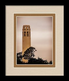 California Framed Print featuring the photograph Coit Tower by Marnie Patchett