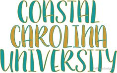 Coastal Carolina University | Sticker