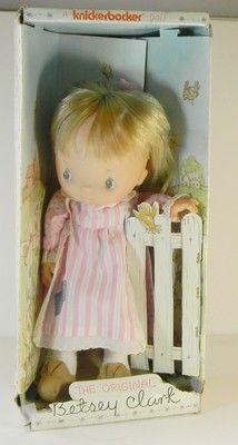 Betsey Clark Cloth Doll Vinyl Head in Box 1975 Knickerbocker  http://www.ebay.com/itm/Betsey-Clark-Cloth-Doll-Vinyl-Head-in-Box-1975-Knickerbocker-/330729899910?pt=LH_DefaultDomain_0=item4d0109c786#ht_3514wt_754