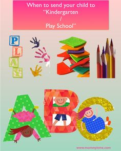 Is sending Kids to Kindergarten or Playschool necessary? If so, what is the right age to send babies to Kindergarten? Well, Read out here the right age to send kids and why a mommy felt that it is must for a child to experience Kindergarten or Playschool. What all developmental aspects it hold for a growing child. Read now.
