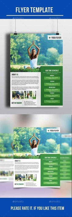 Yoga Flyer Ideas - Pesquisa Google | Yoga | Pinterest | Yoga