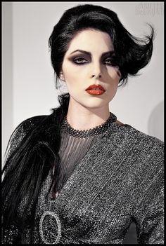 Eden Fall 2011 Hair: Dennis Marshall Cooper Photographer: Danielle Debruno Makeup: Kim Katunis Styling: Dennis Marshall Cooper Model: Eden Walton