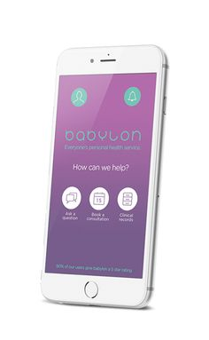 Your health in your hands Babylon claims to be the world's first integrated digital healthcare service