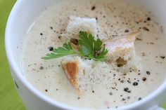 Estonian smoked cheese and zucchini soup. Really yummy and easy to make.