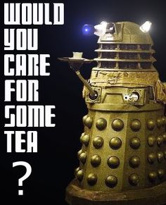 """""""Would you care for some tea?""""  Bingley's Teas being served at Mpls. Marscon Tardis Tea Society"""