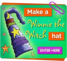 Make a Winnie the Witch hat