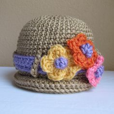 CROCHET PATTERN  His & Hers  A rolled brim hat with by TheHatandI, $5.50