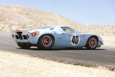 Ford GT40, old school american ass whooping