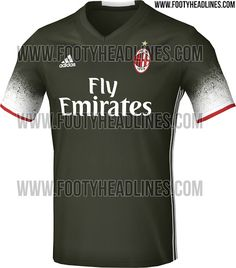 The Milan 16-17 third kit will bring a bold and new look to the Italian club, inspired by recent trends in fashion.