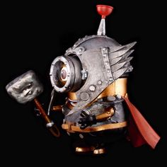 Thor minion from Anglesey Steampunk Steampunk Circus, Steampunk Gears, Steampunk Fashion, Gothic Fashion, Minions, Steampunk Artwork, Anglesey, Dieselpunk, Thor