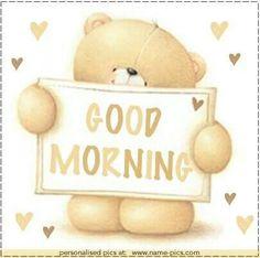 teddy bear / good morning ♡