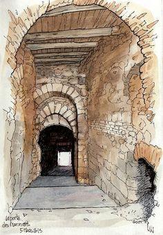 Luzech, la porte des Mariniers | Flickr – Photo Sharing!