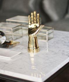 Modern Brass Hand