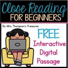 FREE Beginning Reader Comprehension Google Slides™ (Distance Learning)