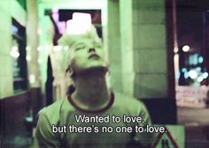 Wanted to love, but there's no one to love