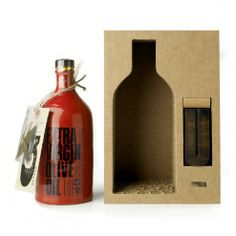 Jarre d'Huile d'Olive en Terracotta & Lampe par Typuglia | Maison del Gusto