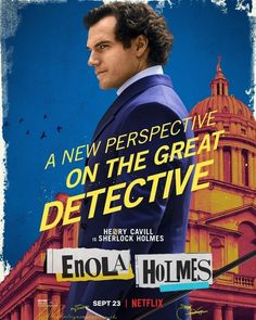 New Movie Posters for Enola Holmes Netflix, Enola Holmes, Mission Impossible Fallout, Henry Cavill News, Love Henry, New Perspective, Christian Grey, Actor Model, My Crush