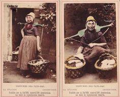 De Arnemuidse visleurster Theuntje (Theu) van Belzen-de Rijk in de laat 19e eeuwse vissersdracht. Theuntje werd geboren in 1832. Deze handgekleurde cartes de visite komen oorspronkelijk uit een leporello (harmonicavouw) boekje met 24 verschillende kartonnen kaartjes van personen in de diverse Zeeuwse drachten.