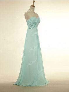 tiffany blue prom dresses long prom dress chiffon by sofitdress