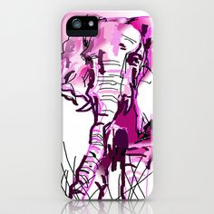 pink+elephant++iPhone+&+iPod+Case+by+Sladja+-+$35.00