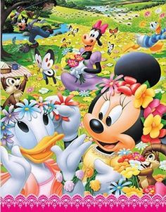 Disney's Mickey & Friends:) Minnie Mouse Pictures, Mickey Mouse Images, Mickey Mouse Cartoon, Mickey Mouse And Friends, Disney Pictures, Disney Pics, Walt Disney, Disney Mickey, Disney Art