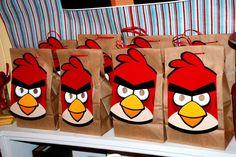 "Photo 1 of 35: Angry Birds / Birthday ""Kilian's Fifth Bird-day"" | Catch My Party"