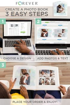 Beautiful Photo Books in Minutes! Discover the Power of FOREVER™.
