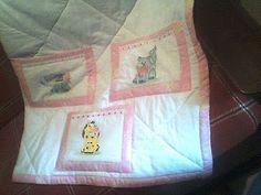 Lindo protetor de berço ou até mesmo um gostoso edredon! http://aneartenasmaos.blogspot.com.br/2010/04/meu-primeiro-blog.html
