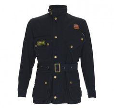 Herringbone Steve McQueen inspired multi-pocketed cotton-linen jacket