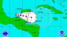 Tropical Depression Forms Off Yucatan, Threatens South Florida With Heavy Rain - http://earthchangesmedia.com/tropical-depression-forms-off-yucatan-threatens-south-florida-with-heavy-rain