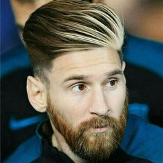 Lionel Messi Haircut Mens Hairstyles Haircuts - While The Footballers On Field Skill Makes Him One Of The Best And Most Famous Soccer Players The World Has Ever Seen Lionel Messis Haircut Seems To Be A Point Of Interest Among Fans As Hairstyles Haircuts, Haircuts For Men, Short Haircuts, Lionel Messi Haircut, Messi Beard, Cr7 Junior, Messi Fans, Mens Hair Colour, Color Beard