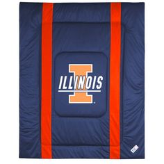 Illinois Fighting Illini Twin Size Sideline Comforter - $63.99