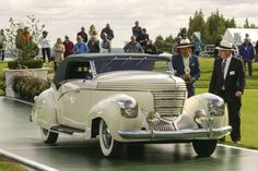 1938 Graham 97 Supercharged Cabriolet