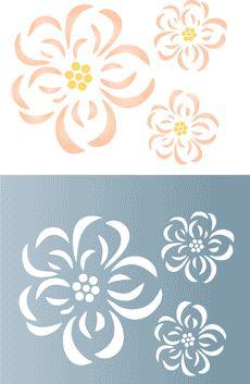 Cherry Tree • stencil till design •