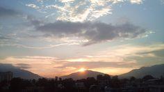 Another wonderful #sunset from #Jhamsikhel #Lalitpur #Nepal
