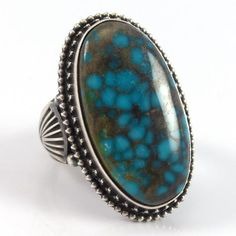 Lone Mountain Turquoise Ring