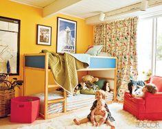 Jesse Carrier Fielden house Elle Decor kids room | Flickr - Photo Sharing!