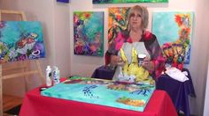 How to paint Coral and Ocean Scenes with Lyn Olsen
