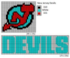 Here is patterns for the logos and name plates for the current teams of the NHL. If anyone would like the patterns for any of the teams tha. Pearler Bead Patterns, Bead Loom Patterns, Perler Patterns, Cross Stitch Patterns, Nhl Logos, Hockey Logos, Sports Logos, Hockey Teams, Plastic Canvas Books