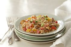 This veggie, rice and chicken skillet is stove-top cooking at its best.  Prepared in one pan, our Grilled Chicken
