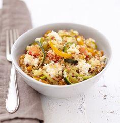 #Recette poêlée de #legumes au #quinoa