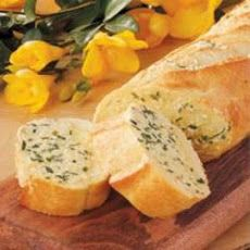 Chive Garlic Bread Recipe