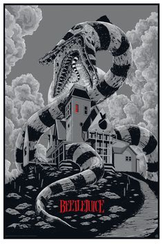 Ken Taylor Beetlejuice Movie Poster
