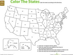 Worksheets: U.S. Expansion: Color by History