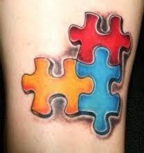 Bildergebnis für puzzlepieces tattoo