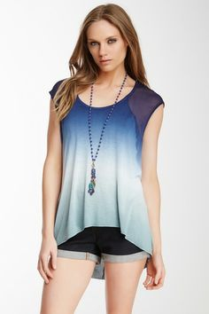 Delaney Cap Sleeve Blouse by Young Fabulous & Broke on @HauteLook