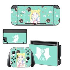 Sailor Moon Decal Nintend Switch Skin NintendoSwitch stickers Compatible for Nintend Switch Console and Joy-Con Controllers Nintendo Switch Package, Buy Nintendo Switch, Console Styling, Switch Covers, Sailor Moon, Games To Play, Brand Names, Decals, Usb