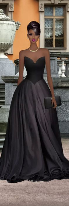 Prom inspiration. Classy and simple.