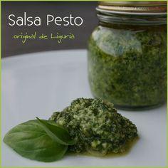 Salsa Pesto – receta original Ligure | Recetas Fáciles de Cocina: A mi lo que me gusta es cocinar